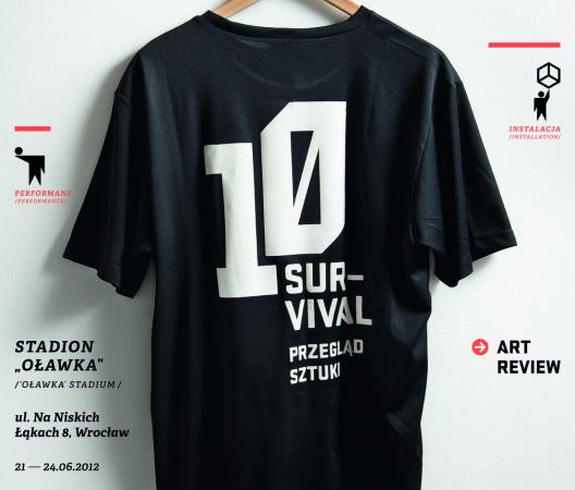 """Survival 10 Przegląd Sztuki """"Wszystko zależy od Ciebie"""" / Survival 10 Art Review """"Up to You"""""""